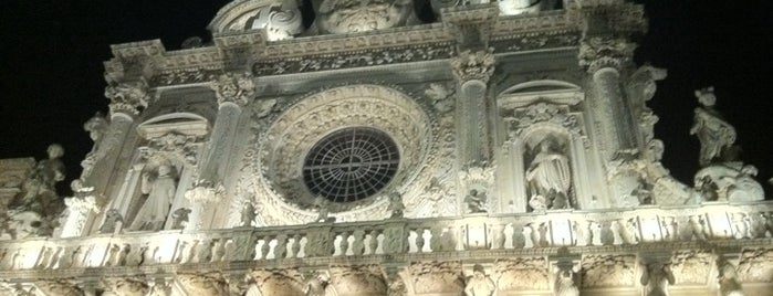 Basilica di Santa Croce is one of Puglia Road trip.