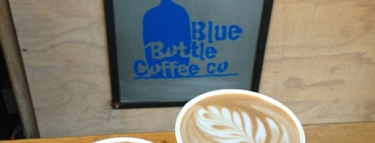 Blue Bottle Coffee is one of 100 places to eat in SF before you die.