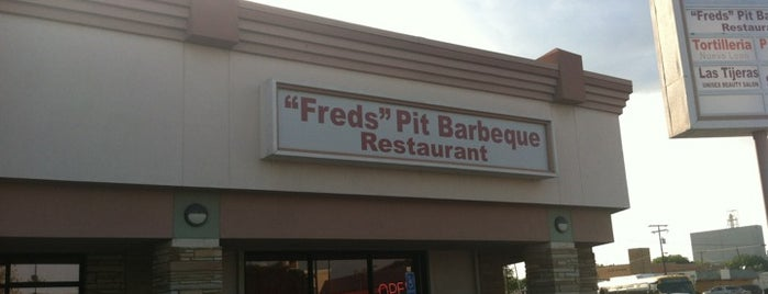 Fred's Barbecue Restaurant is one of Best Restaurants in Irving, TX.