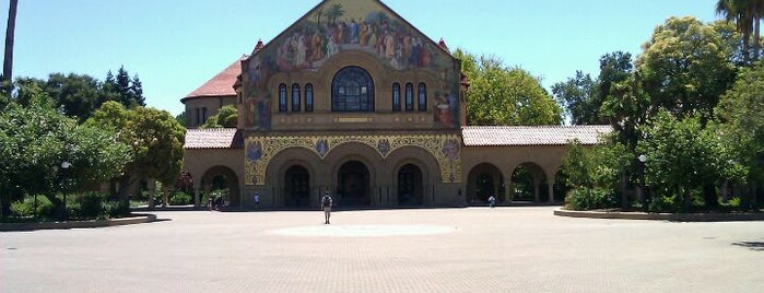Universidad Stanford is one of Bay Area.