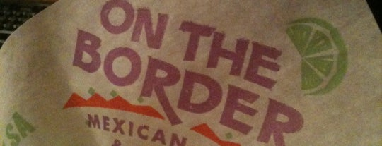 On The Border Mexican Grill & Cantina is one of Greer'in Beğendiği Mekanlar.