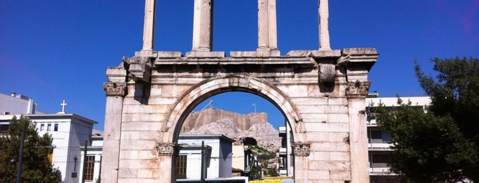 Hadrian's Arch is one of [To-do] Athens.