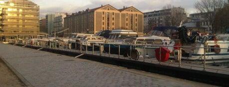 Canal de l'Ourcq is one of Paris.