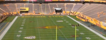 Sun Devil Stadium is one of dos....