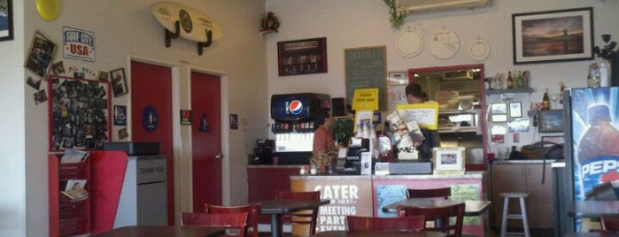 Papa Joe's is one of got eat here.