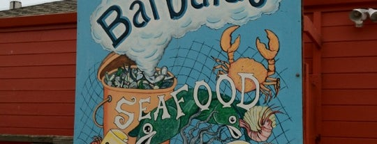Barbara's Fishtrap is one of Locais curtidos por Jay.