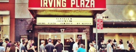 Irving Plaza is one of NYC Arts.