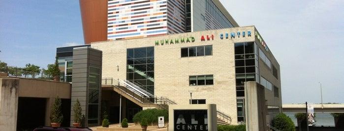 Muhammad Ali Center is one of Louisville.