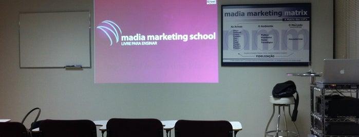 Madia Marketing School is one of Tempat yang Disukai Flavio.