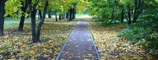 Парк им. 50-летия Октября is one of Лучшие парки Мск.