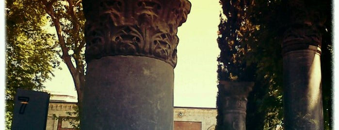 İstanbul Arkeoloji Müzeleri is one of İstanbul Kazan Cadı Kepçe Listesi.