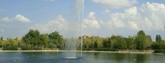 Parque de las Cruces is one of Los mejores lugares para hacer deporte en Madrid.