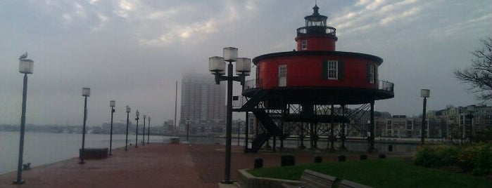 Seven Foot Knoll Lighthouse is one of Ziggy goes to Baltimore.