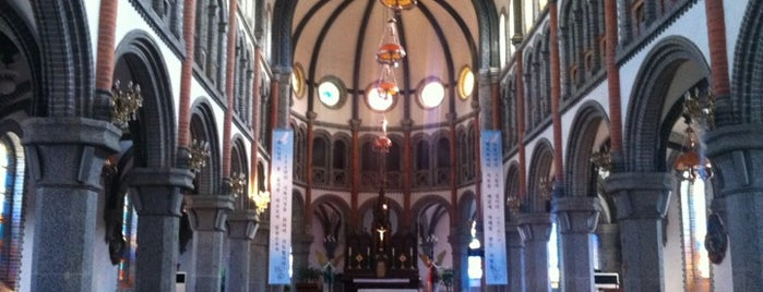 Jeondong Catholic Church is one of april come she will.