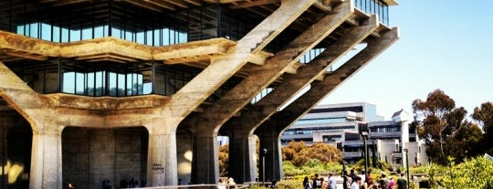 Geisel Library is one of What should I do today? Oh I can go here!.