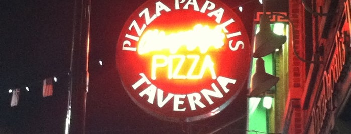 PizzaPapalis of Greektown is one of Detroit #4sqCities.