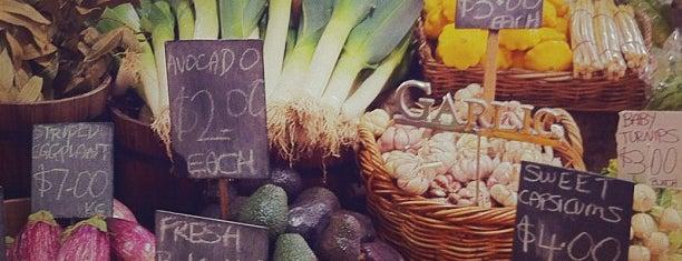 Queen Victoria Market is one of Victoria.