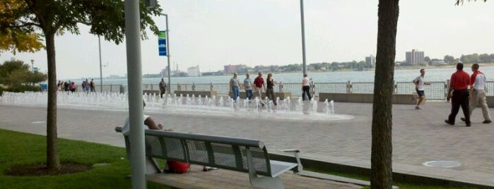 Detroit RiverWalk is one of A State-by-State Guide to America's Best Parks.