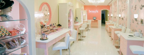 Benefit Cosmetics is one of NYC.