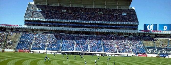 Estadio Cuauhtémoc is one of Part 1~International Sporting Venues....
