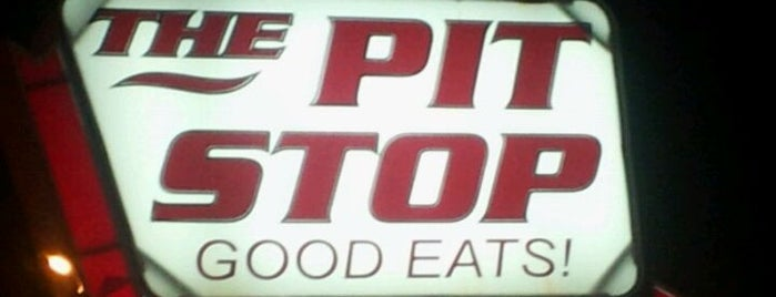 The Pit Stop is one of Places I want to EAT!!!.