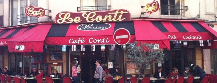 Le Conti is one of Kristen's Paris.