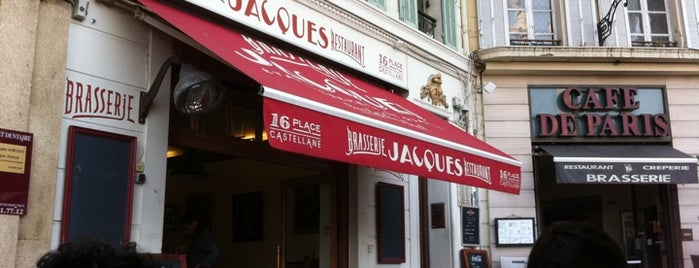Brasserie Jacques is one of Food Cote d'Azur.