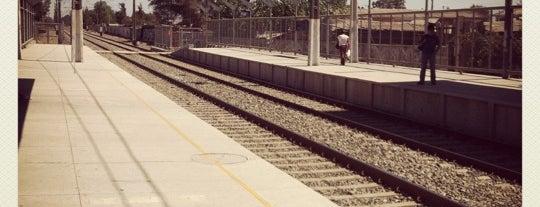 Estación Pedro Aguirre Cerda is one of Estaciones Metrotrén y Expreso Maule.