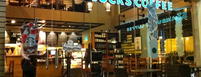 Starbucks is one of Ben's list for Coffee and Cafe.