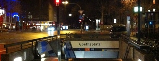 Goetheplatz is one of Munich And More Too.
