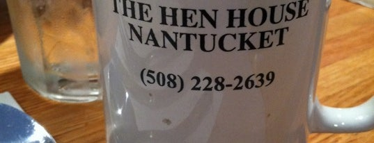 The Hen House is one of Nantucket.