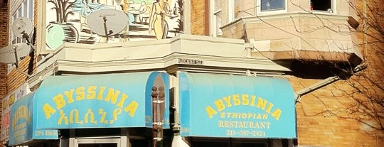 Abyssinia is one of Philly.