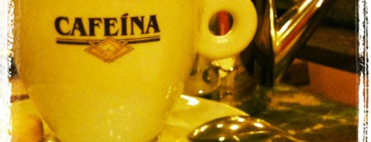 Cafeína is one of Maria Clara 님이 좋아한 장소.