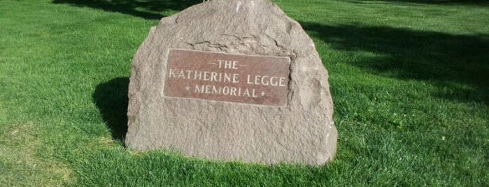 Katherine Legge Memorial Park is one of Illinois's Greatest Places AIA.