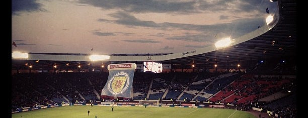 Hampden Park is one of Glasgow.