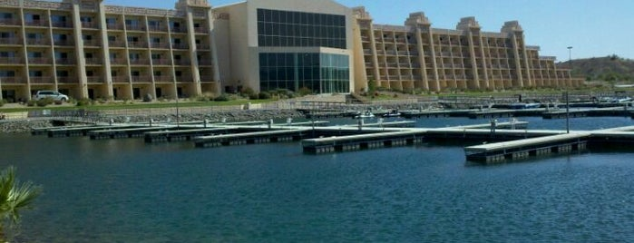 BlueWater Resort & Casino is one of Alicia's Top 200 Places Conquered & <3.