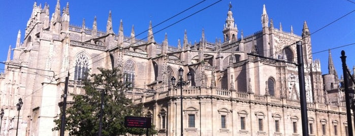 Cathedral of Seville is one of Escenarios de película en Sevilla | Film locations.