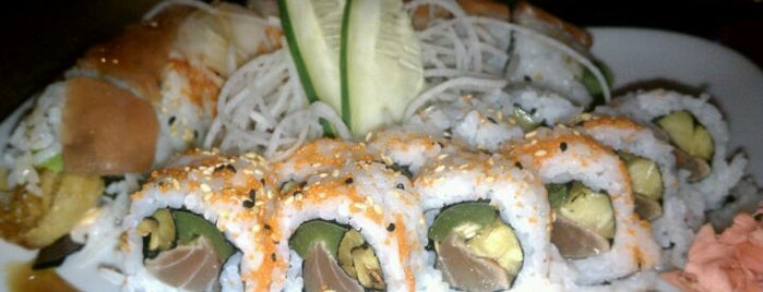 Sushi Blues Cafe is one of Favorites.