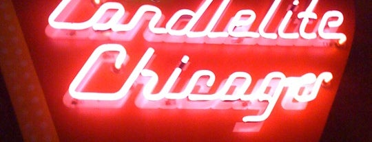 Candlelite Chicago Restaurant is one of Pizza Pizza Pizza.