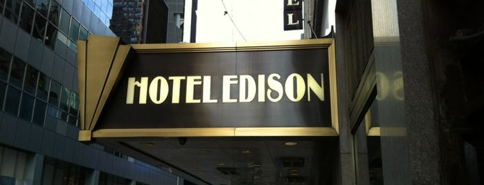 Hotel Edison is one of Midtown.