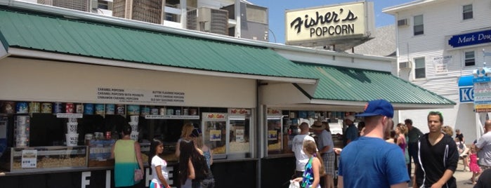 Fisher's Popcorn is one of Rehobeth.