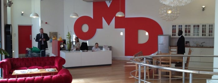 OMD UK is one of Guide to London's best spots.