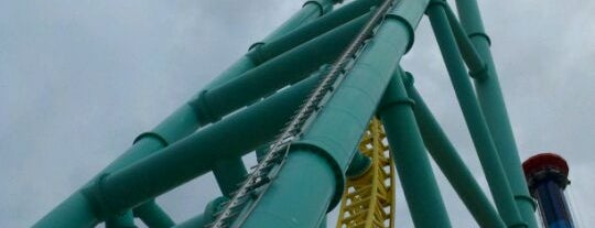 Wicked Twister is one of Conquering Cedar Point.