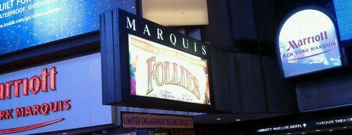 Marquis Theatre is one of Nederlander Broadway Theatres.