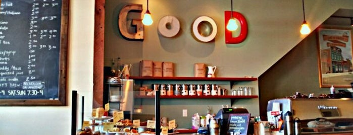 Woodlawn Coffee and Pastry is one of Tempat yang Disukai Cody.