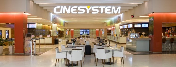 Cinesystem is one of Lugares que já dei checkin.