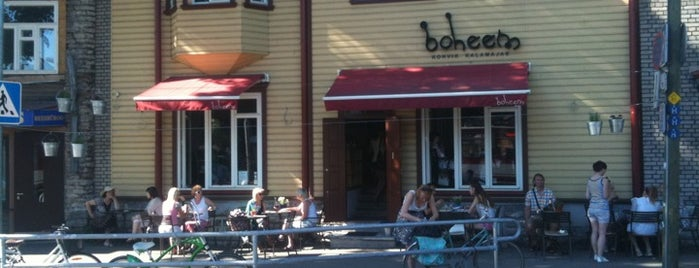 Boheem is one of Hipster Tallinn.
