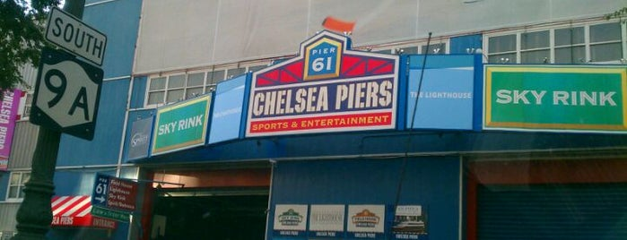 Chelsea Piers is one of NYC Chelsea.