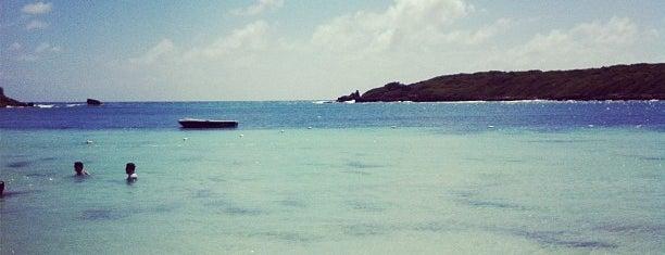Playa Media Luna is one of Puerto Rico.