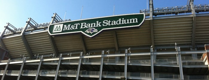 M&T Bank Stadium is one of NFL Stadium.